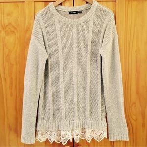 Blu Pepper | Pullover Knit Long Sleeve Sweater